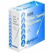 Cotton Tipped Applicators 6'' / Non-Sterile 1,000/box, 10 bx/case