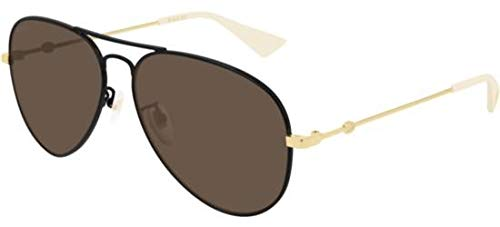 Gafas de Sol Gucci GG0515S BLACK/BROWN hombre: Amazon.es ...