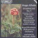 Hugo Alfven: Symphony No. 5; Suite from 'Bergakungen'; Elegy from 'Gustav II Adolf'