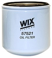 WIX Filters - 57521 Heavy Duty Spin-On Lube Filter, Pack of 1 ()