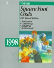 Square Foot Costs, 1998, Means, R. S., Staff, 0876294697