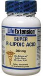 Life Extension Super R-lipoic Acid, Vegetarian Capsules, 240 mg, 60-Count (60 (Bio Lipoic Acid)