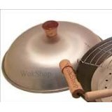 Wok Shop Aluminum Dome Wok Cover,13 Inch(for 14