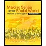 Book Making Sense of the Social World- Methods of Investigation (3rd, 10) by [Paperback (2009)]