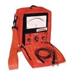 - Simpson 260-9S 12397 Analog Safety Volt Ohm Meter with Case