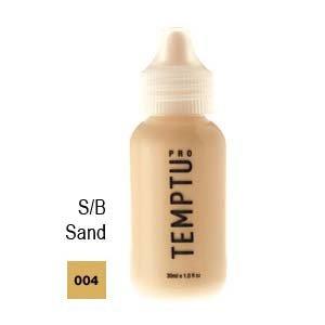 Temptu Pro Silicon Based 004 Sand 4oz. S/b Foundation Bottle