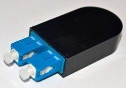 - Ultra Spec Cables SC Fiber Optic Singlemode 9/125 Loopback Adapter