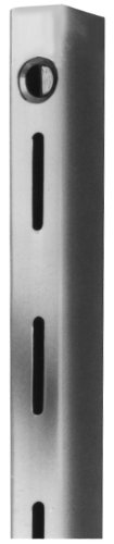 Deluxe Heavy Duty Slotted Standards, 72'' Long, 1'' Slots on 2'' Centers, Box of 10