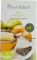 Revolution Tea White Pear Tea, 16-Count Teabags 2 Pack