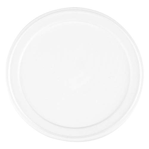 Flat Ice Cream Cup Lids - 4 oz White Disposable Lids - Fit Our 4 oz Cups PerfectlyCups Sold Separately Frozen Dessert Supplies - 100 Count