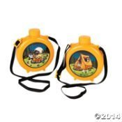 - Camp Adventure Canteens ~ Set of 8 ~ Play Plastic Canteens for Kids ~ Party Favors ~ Fun by Fun Express