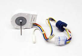 Edgewater Parts WR60X10307 Evaporator Fan Motor with Wiring Harness and Thermistor, Compatible with GE and Hotpoint Refrigerators (Hotpoint Thermistor)