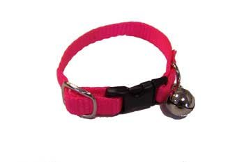 Marshall Ferret Bell Collar - Hot Pink