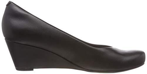 Punta 35 Sandali Eu Flores Clarks A Leather Nero 5 Chiusa Donna black Tulip ExIEvfwqg