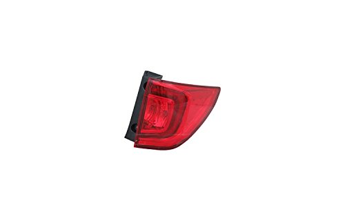 TYC 11-6829-00-1 Replacement Right Tail Lamp for Honda Pilot