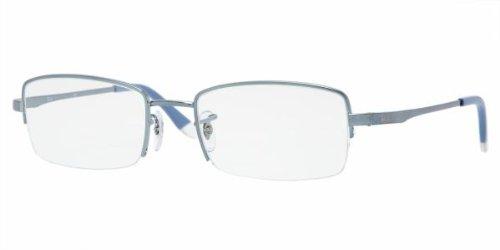 Ray Ban RX 6178 Metallic Grey-Blue-53 53 [Eyewear] [Eyewear] [Eyewear] [Eyewear]