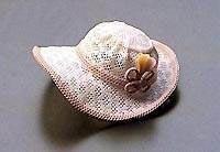 Retired Capricho Caprichos Lace Spanish Name: Sombrero Con Plumas Rosa