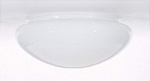White Mushroom Glass Shade - 7-7/8-Inch Fitter Opening by Satco (Image #2)