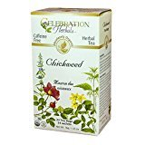 Celebration Herbals Organic Chickweed Herb Tea Caffeine Free -- 24 Herbal Tea Bags