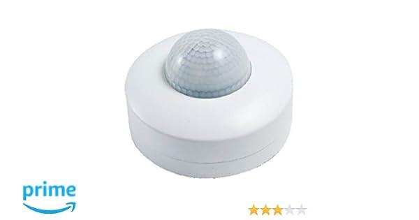 ElectroDH 60253TCH3 DH Detector Movimiento DE Infrarrojos DE Techo 3 Sensor: ElectroDH: Amazon.es: Bricolaje y herramientas
