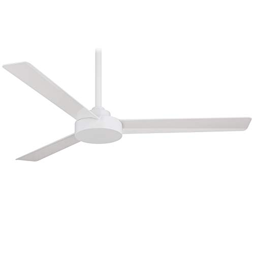 Minka-Aire F524-WHF Roto 52' Ceiling Fan with Wall Control, Flat White