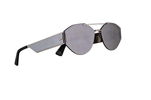 4e56844e122f1 Christian Dior Homme Dior0233S Sunglasses Palladium w Ivory Mirror Lens  62mm 0100T Dior 0233 Dior 0233 S Dior0233 S