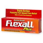 Flex-All Plus Maximum Strength  Gel, 4-Ounce Tubes (Pack of 3)