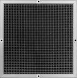 PROSELECT 22 x 10 in. White Aluminum T Bar Egg Crate Return Insert