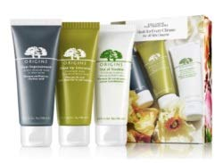 Origins 3-Piece Facial Mask Kit; Clear Imrovement, Drink Up Intensive, Out of Trouble