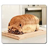 Large Mousepad High Quality 12727 Pug Bread Animal Art Natural Eco Rubber Mousepad Design Durable Mouse Mat Computer Accessories Big Gaming Mouse Pad