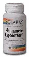 Solaray - Asporotate manganèse,