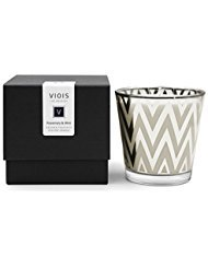 - VIOIS, ROSEMARY & MINT AROMATHERAPY ECO SOY CANDLE. Made in the USA with Pure Essential Oils Blend and All Natural Ingredients. 5.3 OZ NET WT / 150 G