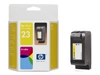 HP 23 - Print cartridge - 2 x yellow, cyan, magenta - 649 pages ()