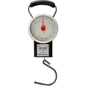 Luggage Baggage Scale with Tape Measure with Dial Display Dependable Industries inc 2218