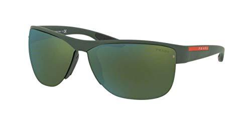 Prada Linea Rossa 0PS 17US Gafas de sol, Green Rubber, 68 ...