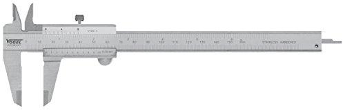 Taschen-Messschieber DIN 862 8 inch 200 mm mit Feststellschraube
