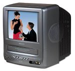 Memorex MVT2090 9-Inch TV/VCR Combo with DC Car Cord
