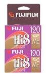 Fuji 2-Pack 120-Minute Hi-8 Tapes (P6120HI82PK)