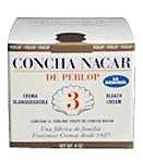 Concha De Nacar perlop Crème Bleach naturel, 2 once