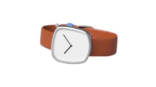 Bulbul Pebble Swiss Made Ronda 762 White Dial Men's Watch 03