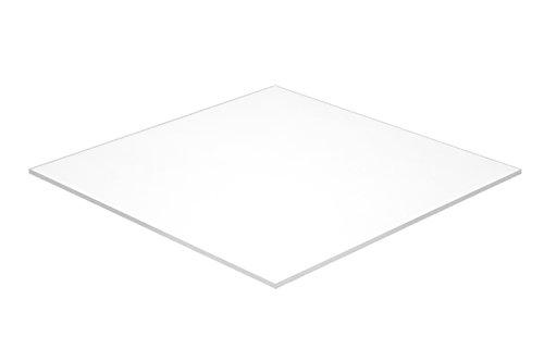 Falken Design WT3015-1-8/2424 Acrylic White Sheet, Opaque, 24