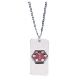 Acu-Life VND Medical Alert ID Necklace, Diabetic