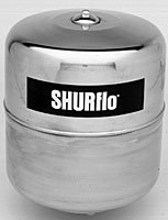 SHURFLO 3400-002 2 Gallon Tank-Charged Tank- Pre-Charge (Charged Pre Tank)