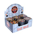 TatWax All Natural Soothing Tattoo Healing Ointment Balm Display Sized Case of 24 one-oz Tins