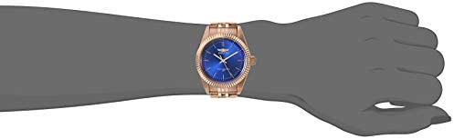 Invicta Women's Specialty Quartz Watch with Stainless Steel Strap, Rose Gold, 18 (Model: 29415)