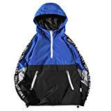 Warrior Jacket Men Hooded Teens Sport Cycle Jersey Clothes Field Motorcycle Jacket Coat Large Size Hoodie Blue