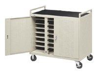 Bretford D24CFR 24-Unit Notebook Storage Cart
