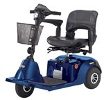 Wheel Medium Size Scooter - Blue (Daytona 3 Scooter)
