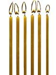 100% USA Beeswax 3'' Birthday Candles (Bag of 120) by Beeswax Candle Works, Inc
