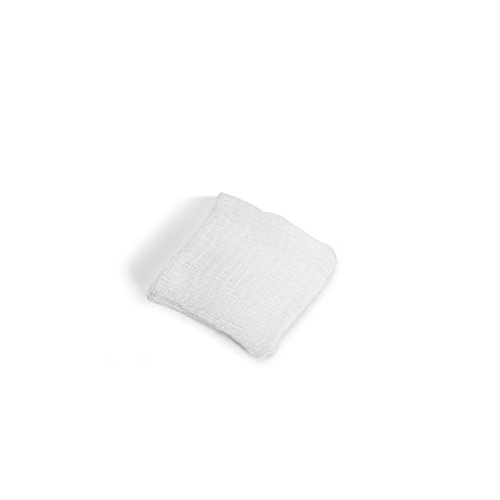 MediChoice Gauze Sponge, 12-Ply, Non-Sterile, Hypoallergenic, 2x2 inch, White, 1314GZ2502 (Case of 8000)
